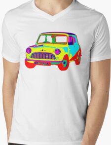 Mini Morris Mens V-Neck T-Shirt