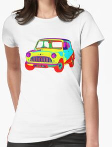 Mini Morris Womens Fitted T-Shirt