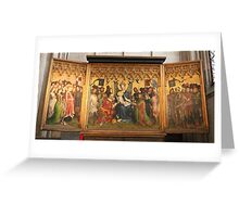 Cologne Cathedral Side Altar Greeting Card