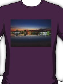 Tourlida twilight - Lagoon of Messolonghi T-Shirt