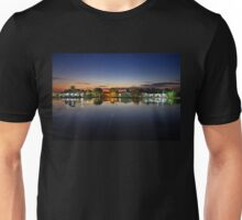 Tourlida twilight - Lagoon of Messolonghi Unisex T-Shirt