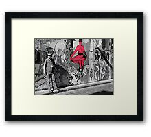 melbourne graffiti -  Framed Print