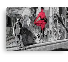melbourne graffiti -  Canvas Print