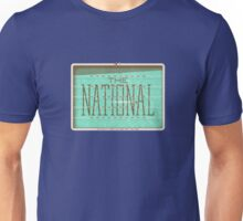 The National concert poster Unisex T-Shirt