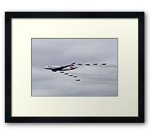 British Airways & The Red Arrows Framed Print