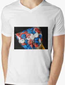 The Hobbit M&Ms Mens V-Neck T-Shirt