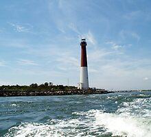 Barnegat Lighthouse - Ship Bottom, NJ  by Heidemarie