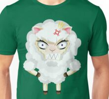 Cute Chibi Sheep 3 Unisex T-Shirt