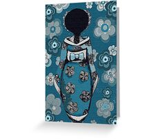 Lady of Asia Greeting Card