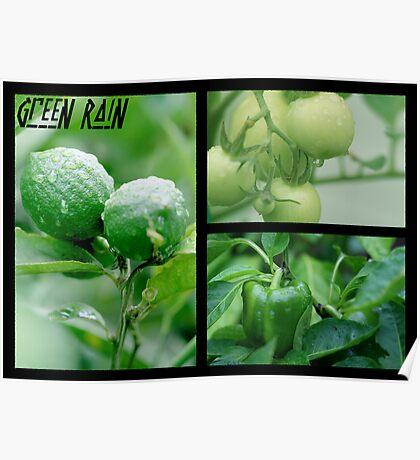 Green Rain Poster
