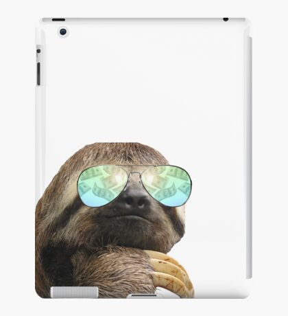 Bling Sloth iPad Case/Skin