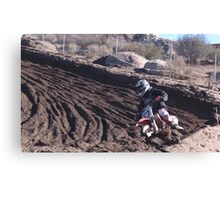 Motocross - In for the ride!  Cahuilla Creek MX - Vet X Racing Series (146 Views as of 5-9-2011) Canvas Print