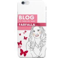Blog il volo di una farfalla iPhone Case/Skin