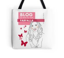 Blog il volo di una farfalla Tote Bag