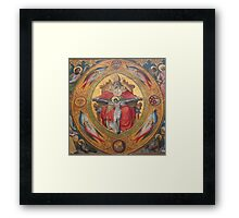 Cologne Cathedral - Altar of the Poor Clares Framed Print
