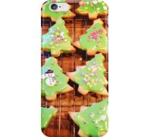 Christmas Biscuits iPhone Case/Skin