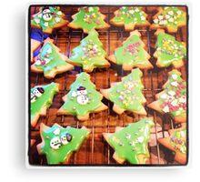 Christmas Biscuits Metal Print