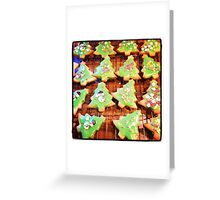 Christmas Biscuits Greeting Card