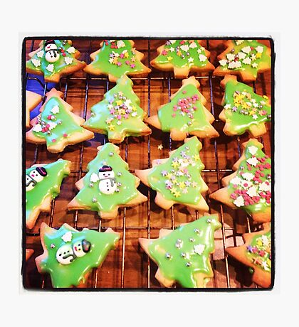 Christmas Biscuits Photographic Print