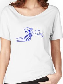 'Allo Sailor x' Women's Relaxed Fit T-Shirt