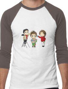 Oh Deanmas Tree... Men's Baseball ¾ T-Shirt