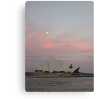 utzon sunset Canvas Print