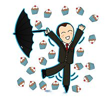 Mycroft Loves Cake - Clothing/Laptop Skins/Pillows & Totes by aliciacreates