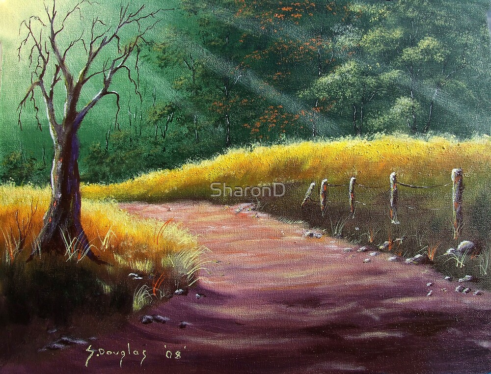Early Morning Light - Painting by SharonD
