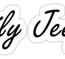 daily jeepin Sticker