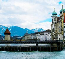 Lucerne: the Old City by Jakob Lawman