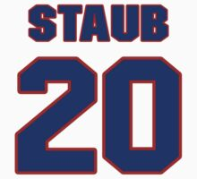 National baseball player Rusty Staub jersey 20 by imsport
