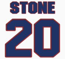 National baseball player Ricky Stone jersey 20 by imsport