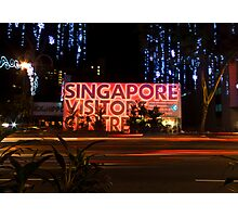 Singapore Visitors Centre Photographic Print