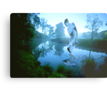 River Nymph Metal Print