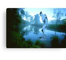 River Nymph Canvas Print