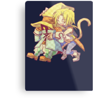 Zidane and Vivi Metal Print