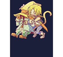 Zidane and Vivi Photographic Print