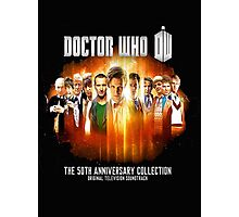 Doctor Who 50th Anniversary Photographic Print