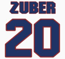 National baseball player Bill Zuber jersey 20 by imsport