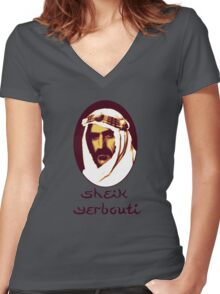 Sheik Yerbouti Women's Fitted V-Neck T-Shirt