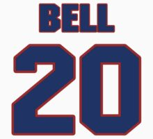 National baseball player Beau Bell jersey 20 by imsport
