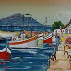 SIMONS TOWN WESTERN CAPE SOUTHAFRICA by christiaan-art venter