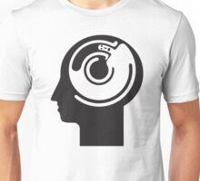 crazy idea revolving in a head Unisex T-Shirt