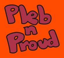Pleb N Proud Kids Tee
