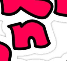 Pleb N Proud Sticker
