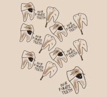 'Our Pirate Teeth' by ellejayerose