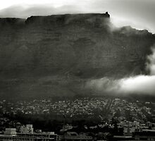 The Cloud on Table Mountain by Craig Mitchell