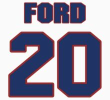 National baseball player Lew Ford jersey 20 by imsport