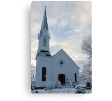 Newfields Community Church 01 Canvas Print