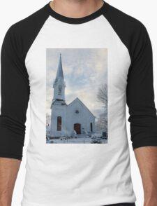 Newfields Community Church 01 Men's Baseball ¾ T-Shirt